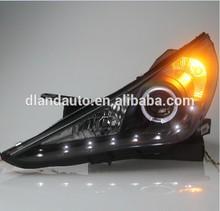 DLAND SONATA 8 ANGEL EYE COMPLETE HEADLIGHT V3, WITH LED TEAR EYE AND BI-XENON PROJECTOR, FOR HYUNDAI