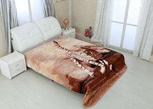 2014 Otsu Keori animal printed mink blankets