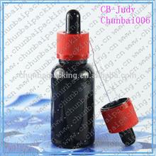 matte black glass ,e-liquid glass bottles,cheap glass bottles with childproof tamper evident cap