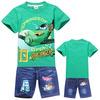 2014 kids summer new fashion clothing set plus size clothing