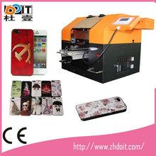 Uv mobile phone covers printing machine . printing plastic mobile phone cover , DY270 mobile phone skin printing machine