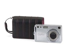 2014 easy to take dslr leather camera bag