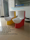 """Canada Hot contemporary home bath commode !12"""" distance flange one piece s trap red colored toilets"""