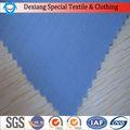 Resistência à tração de tecido cvc algodão b586/poli resistente ao fogo antiestático tecido impermeável