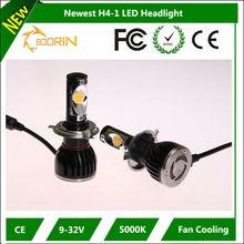 Surprise Best Fan cooling Light Reflector car h4 led headlight bulbs