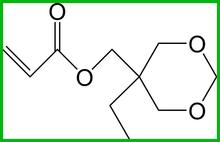 UV monomer Cyclic Trimethylolpropane Formal Acrylate / ctfa NO. : 66492-51-1