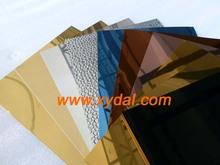 flexible building metal black glass aluminum sheet