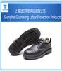 Black Leather Rubber Sole Safety Shoes EN345/Rubber Cement Safety Shoes /Work Safety Shoes