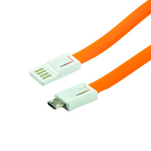 Reversible USB port on the new micro cables