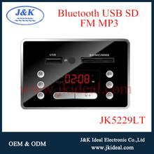 JK5229LT bluetooth usb sd card fm mp3 box panel