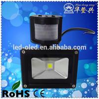 LED light available with Bridgelux chip radio fm 10w rgb flash led flood light