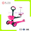 Hot kids 3 wheel 3 in 1 o-bar mini kick scooter parts & accessories for sale