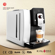Big touch screen professional cappuccino coffee machine
