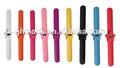 Boa promoção de quartzo crianças relógio de pulso barato crianças silício relógio presente colorido relógio para a menina e menino