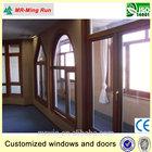 wood basement windows, modern wooden windows, Customized wooden doors and windows