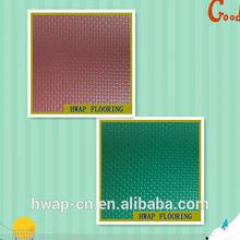 Professional Wear-resisting wood basketball PVC sports flooring / grid grain sports PVC flooring for basketball