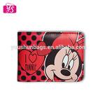 2014 hot selling wholesale cheap female wallets cartoon purse