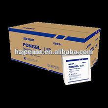 L50 Dust-free 100% long fiber wood pulp paper wiper*750sheets/roll*1roll/carton