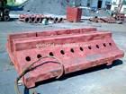 nodular graphite iron/nodular cast iron/ductile iron machine tool vertical cast worktable rail