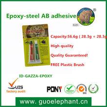 Guoelephant Transparent epoxy glue AB high strength structure adhesive Silicone Rubber Adhesive sealant