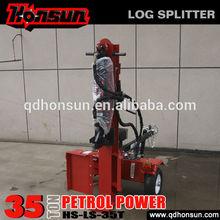2014 South America EXPO invited Honda Kohler motor garden tool China best 35 ton hydraulic oil for log splitters