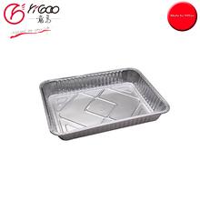 101591 airline fast food disposable aluminium foil trays