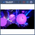 Interactivo zygote bola/inflable led globo/fiesta la decoración de bolas de multitudes
