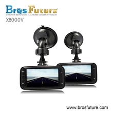 HD 720p car camera DVR IR lights night vision loop recording 2.7 inch TFT display dash camera