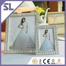 Photo Frame New Models Plastic Photo Frame Decorative Crystal Rectangle Shape Frame Toy Photo for Home Decoration