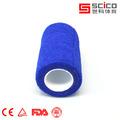 Cuidado de la Salud de Scico vendaje cohesivo no tejida elástica auto-adhesivo