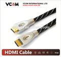 V 1.4 hdmi cable de velocidad chapado en oro de soporte 1080p 24k