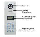 Multi Apartment Intercom System video door phone with remote door release