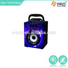 Mini Portable Digital Wooden Speaker with AM/FM/TF/remote Wireless control