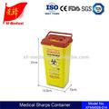 litro 5 desechables médicos cortopunzantes contenedores de riesgo biológico