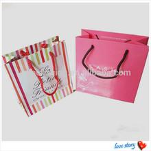 luxury paper jewelry bag wholesale china handbag free shipping, gift shopping handbags