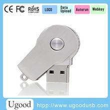 Whistle Custom usb flash disk 32gb with keychain/keyring