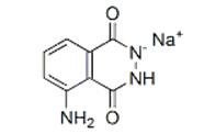 3-amino-phthalhydrazide Na sal reagentes químicos Luminol Na sal CAS 20666 - 12 - 0
