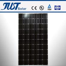 210-260W mono solar panel, solar system,15 watt solar panel