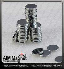 Dia 1/2'' inch rare earth ndfeb magnets disc