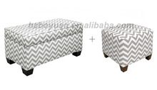 2014 Hot Sale/Storage Bench/Fabric Ottoman /living room furniture
