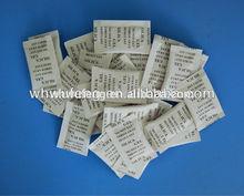 oaccept OEM silica gel desiccant 1g moisture absorbing packet
