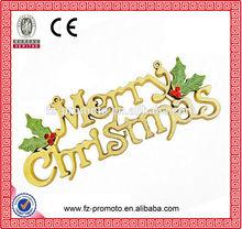 English words fashion wholesale large scale christmas decoration