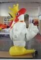 Atacado halloween decoração frango inflável