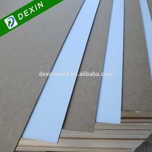 1 Side or 2 Side Melamine 5mm MDF Board