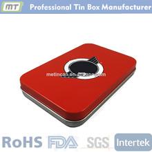 metal rectangular digital bracelet package box