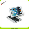 High quality ABS cover 360 degree rotate bluetooth keyboard case for ipad mini BK366