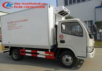 dongfeng frezzer truck, refrigerator van body, refrigerator van,
