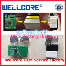 For Apple Licensed With 2 PCS CR2477 3 Years life Battery Bluetooth iBeacon