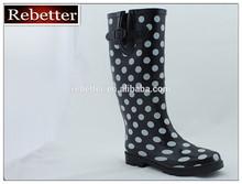 2014 new Ladies rain boots over shoe