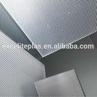 3mm Clear Unbreakable flexible plastic prismatic polycarbonate sheet
